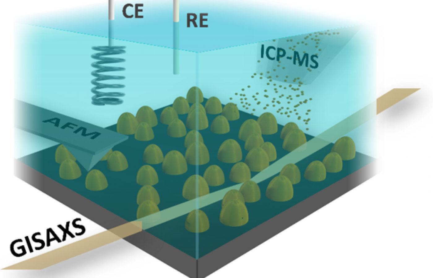 Comprehensive in-situ study of a fuel cell catalyst highlighted by CERIC